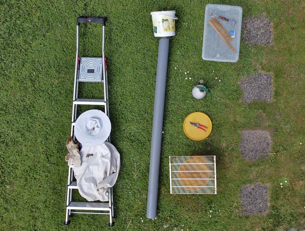 Bienenschwarm Ausrüstung